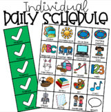 Individual Daily Schedule for Special Education