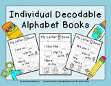 Printable Alphabet Books (Individual Decodable Books)
