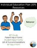 Individual Education Plan Resources