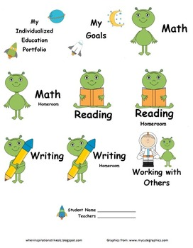 Individual Education Portfolios--Organize your IEPs!