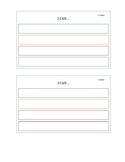 Individual Goal Statement Document