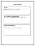 Individual Goal Worksheet