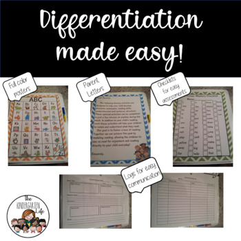 Individual Guided Reading Binders: First Grade