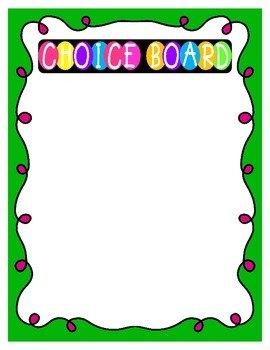 Individual Incentive Token Boards (Fun & Funky Theme)