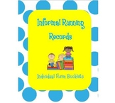 Individual Informal Running Record Booklets (Great for Pro