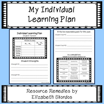 Individual Learning Plan - Student Version