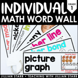 Individual Math Word Wall 1st Grade | Student Word Wall Ring