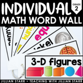 Individual Math Word Wall 2nd Grade | Student Word Wall Ring
