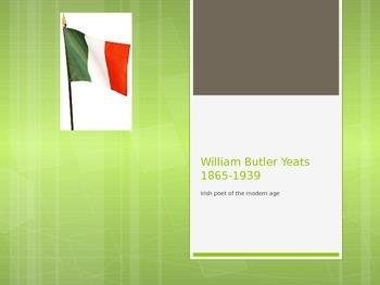Yeats - Literary Context for IOC prep