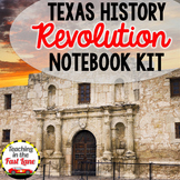 Texas Revolution Notebook Kit