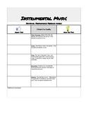 Individual Performance Feedback Rubric
