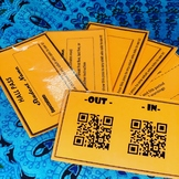 Individual QR Code Hall Pass Set-Up