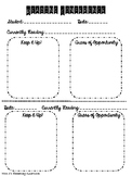 Individual Reading Conference Form
