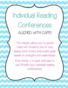 Individual Reading Conference Record FREEBIE!!!