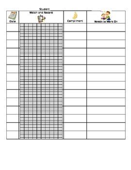 Individual Reading Conference Sheet
