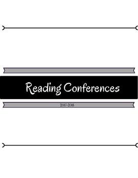 Individual Reading Conferences Data Sheet