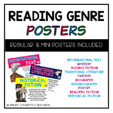 Reading Genre Posters, Activities & More