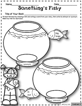 Individual Reading Response Activities for Any Book CCSS