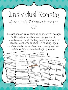 Individual Reading Student Conference Resource Set