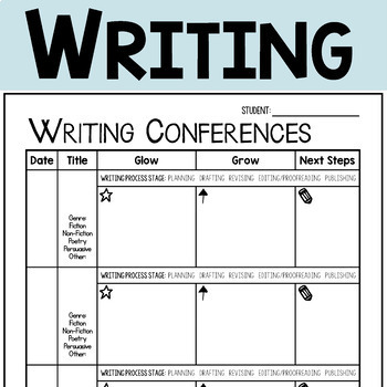 Individual Reading and Writing Conference Forms: A Tool for Formative Assessment