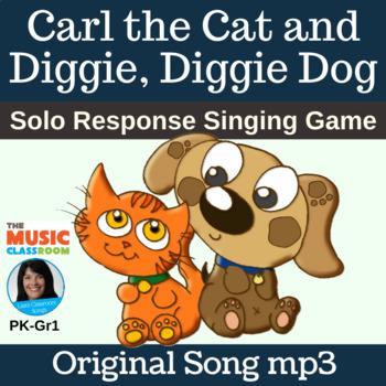Individual Response Song   Carl the Cat and Diggie, Diggie Dog   Song mp3