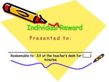 "Students ""NO COST"" Rewards!!"