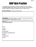 Health Science - Individual SOAP Note