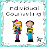 Individual Counseling Notes ~ Student Meeting Records