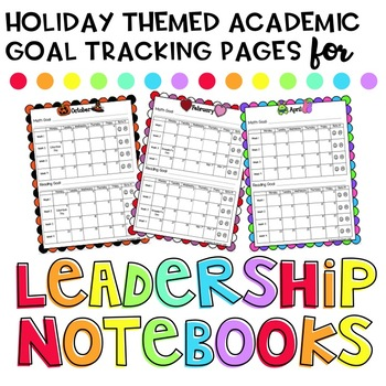 Goal Tracking Scoreboards (Math and Reading)