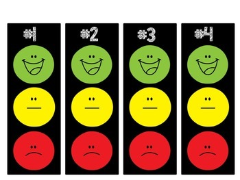 smiley face behavior chart template - 3 smiley face behavior chart individual smiley face