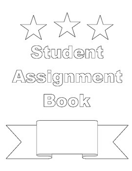 Individual Student Assignment Book