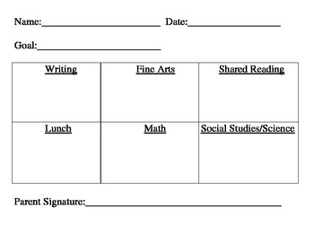 Individual Student Behavior Plan