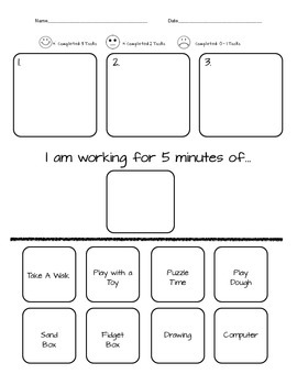 Individual Student Behavior/Reward Plan