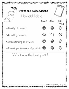 Individual Student Checklists