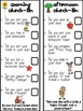 Individual Student Checklists for Morning and Afternoon Routines