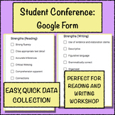 Individual Student Conferencing Record Keeping Google Form