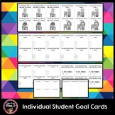 Individual Math, Writing and Reading Goal Cards