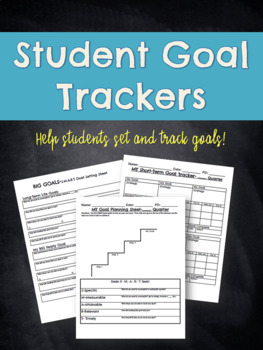 Individual Student Goal Tracker
