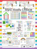 Individual Student Mini Math Office