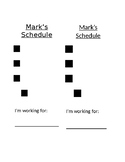 Visual Schedules for students