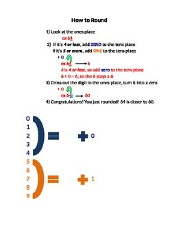 Individual Student Sheets for Rounding
