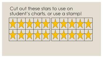 Individual Student Star Chart
