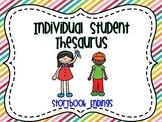 Individual Student Thesaurus