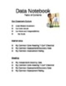 Individual Student Tracking Binder (ELA)