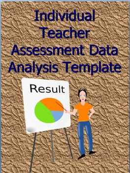 Individual Teacher Assessment Data Analysis Template and Class Test Data Tracker