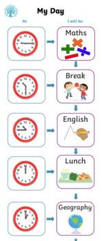 Individual Visual Timetable