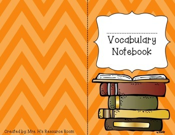 Individual Vocabulary Notebook