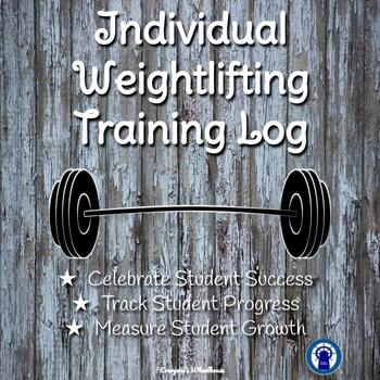 Individual Weightlifting Training Logs