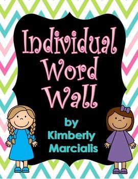 Individual Word Wall