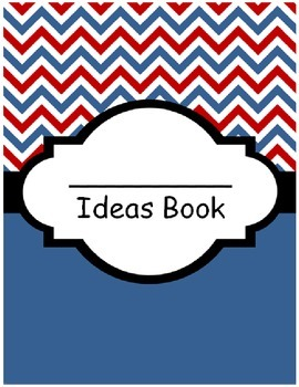 Individual Writing Ideas Book